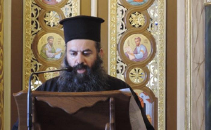«Εν δράσει 2015»: π. Αλέξιος Ιστρατόγλου: «Άνθρωπος και Χριστός γίνονται ένα και προχωρούν στη σωτηρία»
