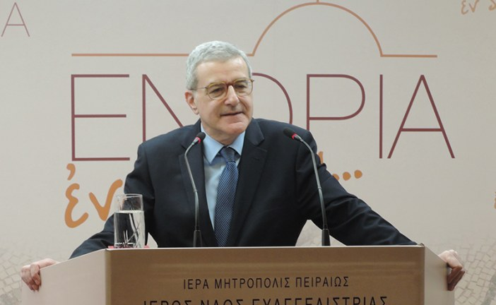 «Ευαγγελίστρια 2018»: κ. Κωνσταντίνος Χολέβας