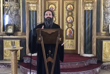 «Εν δράσει 2018»: Πρωτ. Σπυρίδων Βασιλάκος (1η ομιλία)