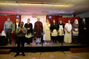 «Εν δράσει 2018»: Θεατρική παράσταση: «Τελευταίες στιγμές του Αλέξανδρου Παπαδιαμάντη»