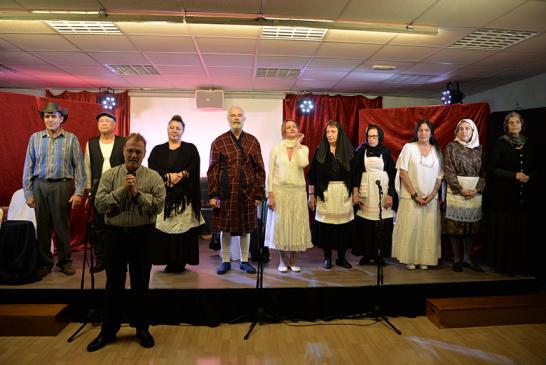 «Ενορία εν δράσει 2018»: Θεατρική παράσταση: «Τελευταίες στιγμές του Αλέξανδρου Παπαδιαμάντη»
