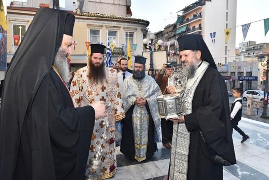 «Ευαγγελίστρια 2020»: Η υποδοχή της Τιμίας Κάρας του Αγίου Προκοπίου
